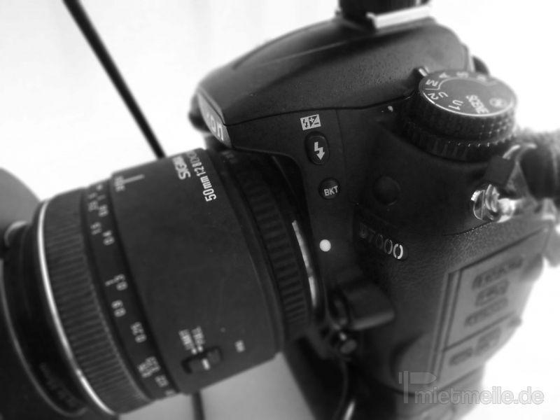 Fotokamera mieten & vermieten - DSLR Spiegelreflex Digitalkamera verleih Nürnberg in Nürnberg
