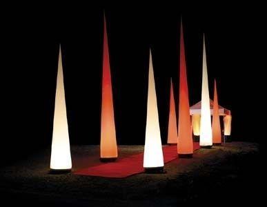 Leuchten & Lampen mieten & vermieten - Leuchtskulptur Aircone in Waldshut-Tiengen