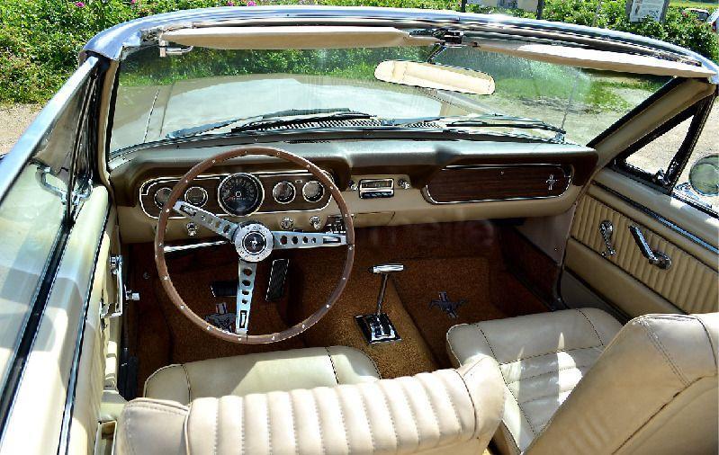 Hochzeitsauto mieten & vermieten - Oldtimer Ford Mustang Cabrio, V8, Bj. 1966 in Schweich