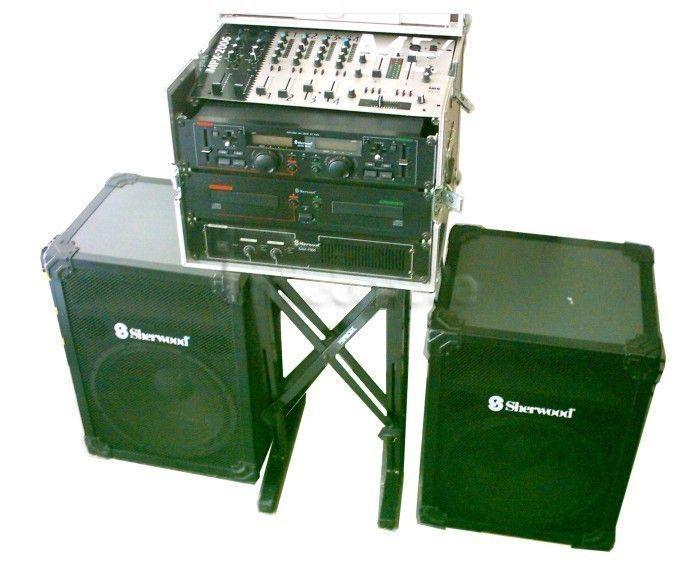 Musikanlage mieten & vermieten -  Leihanlage DJ Musikanlage m.Doppel CD Player ,USB in Frankfurt am Main