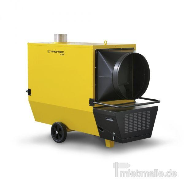 Heizung mieten & vermieten - Indirekt Ölheizer Trotec ID 800 (Axial) in Heinsberg
