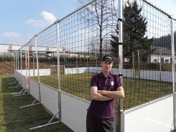 Großspielgeräte mieten & vermieten - Soccer court, Streetsoccer mieten, leihen, verleih in Göppingen