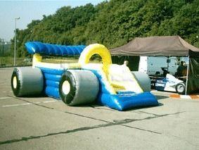 Hüpfburg mieten & vermieten - Hüpfburg Formel1 mieten, leihen, verleih in Göppingen