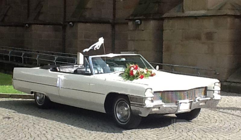 Hochzeitsauto mieten & vermieten - Cadillac de Ville - Hochzeitsauto in Essen