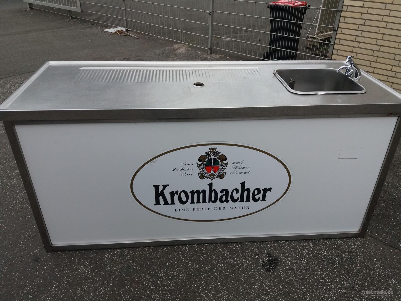 Tresen mieten & vermieten - Biertresen, Schanktresen mit Spülbecken in Hamburg