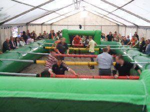 Menschenkicker mieten & vermieten - Human Table Soccer, der Menschenkicker in Sinsheim