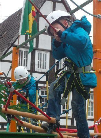 Klettergeräte mieten & vermieten - Kinder-Hochseilgarten  Klettergarten mieten  in Ense