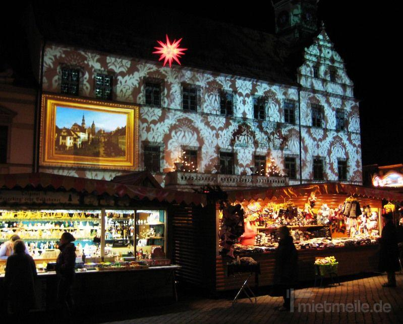 Antik & Rustikal mieten & vermieten - barocke Fassade Licht-Installation in Dresden