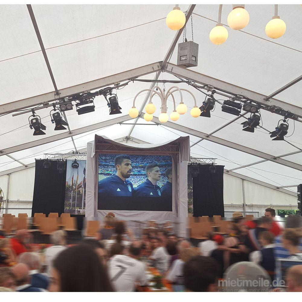 LCD Monitore mieten & vermieten - Public Viewings, Partys, Festivals, Clubs, Sportevents - Indoor oder Outdoor, Videowall, Videowand in Remchingen