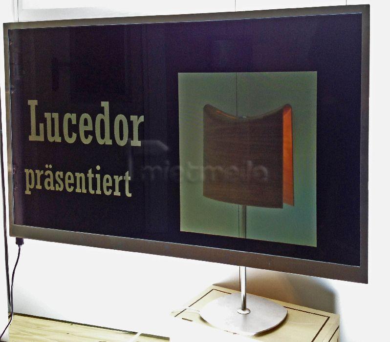 """LCD Monitore mieten & vermieten - Transparenter / Durchsichtiger Monitor 46""""  in Dresden"""