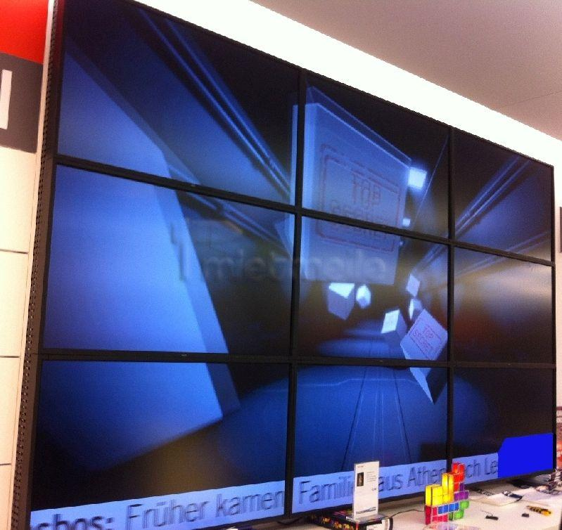 Videotechnik mieten & vermieten - günstige 3x3 Videowand mieten aus 46 in Dresden