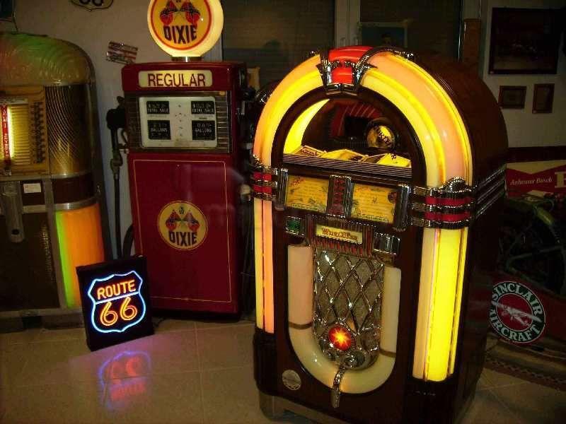 Musikanlage mieten & vermieten - CD-Jukebox Wurlitzer OneMoreTime mieten, Frankfurt,Mainz,Wiesbaden,Darmstadt in Ginsheim-Gustavsburg