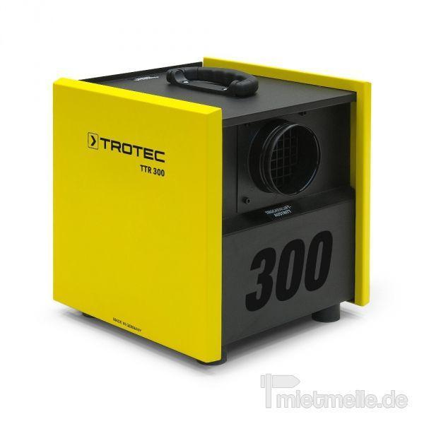 Luftentfeuchter mieten & vermieten - Adsorptionstrockner Trotec TTR 300 in Heinsberg