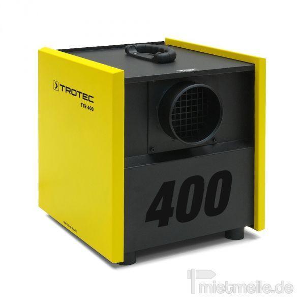 Luftentfeuchter mieten & vermieten - Adsorptionstrockner Trotec TTR 400 in Heinsberg