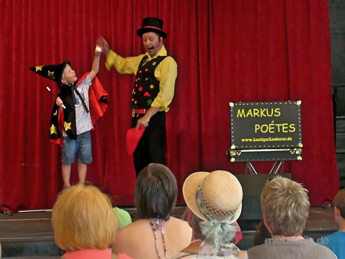 Magier & Zauberer mieten & vermieten - MARKUS POÉTES - Zauberer für KINDERgeburtstag aus Köln in Köln