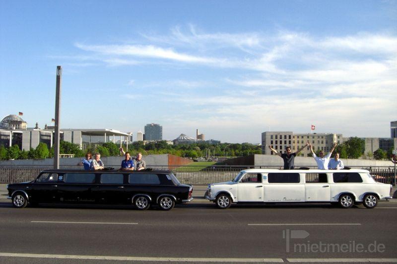 Limousinen mieten & vermieten - Die Trabi-XXL Trabant Stretchlimousinen in Berlin
