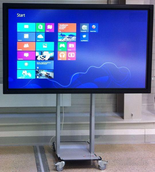 "Konferenztechnik mieten & vermieten - 84"" Touch-Screen Monitor interaktive Tafel Mieten in Dresden"