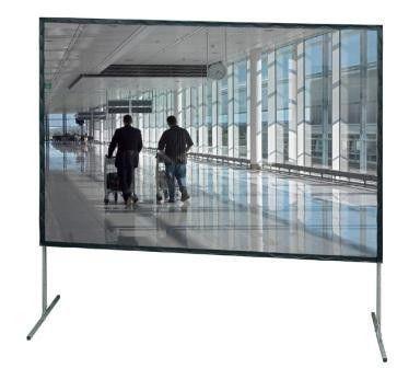 Leinwand mieten & vermieten - Leinwand 4 x 3 Meter, Auf- oder Rückprojektion in Stuttgart