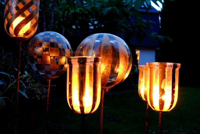 Leuchten & Lampen mieten & vermieten - Windlichter & Dekokugeln / Rosenkugel in Berlin