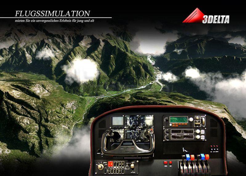 Simulatoren mieten & vermieten - Flugsimulator mit weltweiten Flugzielen  in Neunkirchen am Sand