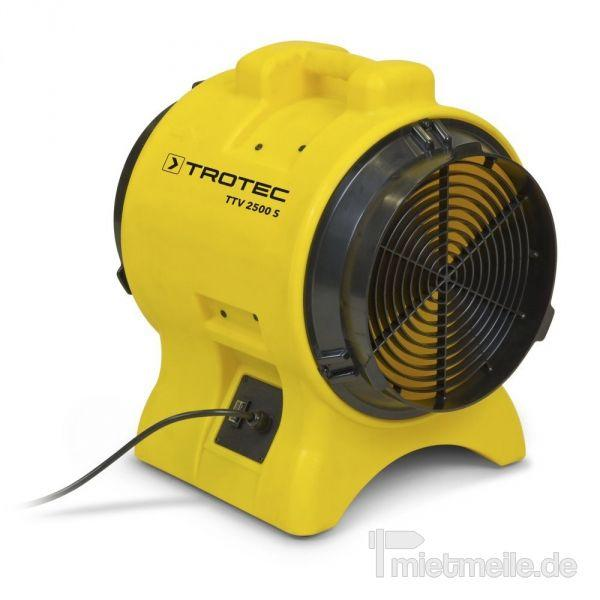 Ventilator mieten & vermieten - Axialventilator Trotec TTV 2500 S in Heinsberg