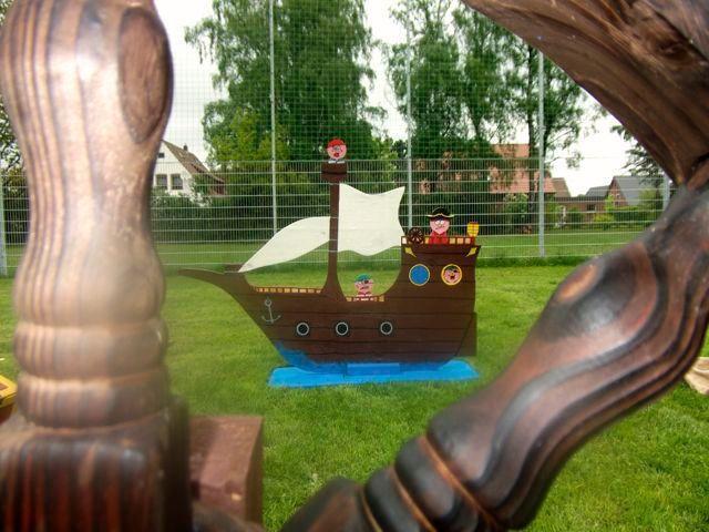 Parcours mieten & vermieten - Piratenparcour inkl. Piratendiplom in Bramsche