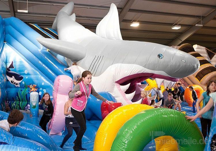 Riesenrutsche mieten & vermieten - 260 qm Shark Attack - Hairutsche - Active Center in Bramsche