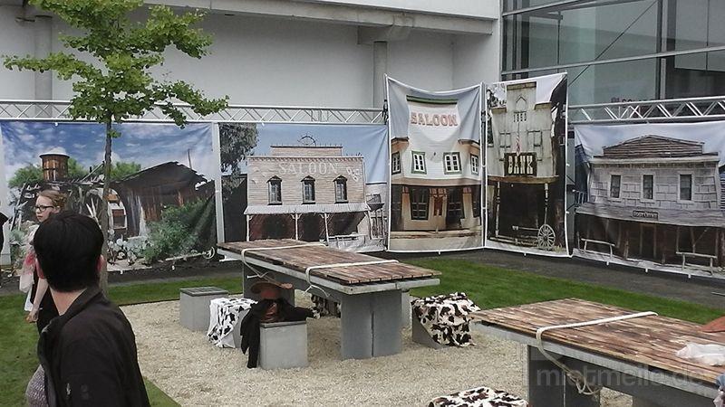 Kulissen mieten & vermieten - Westerndekoration in Bramsche