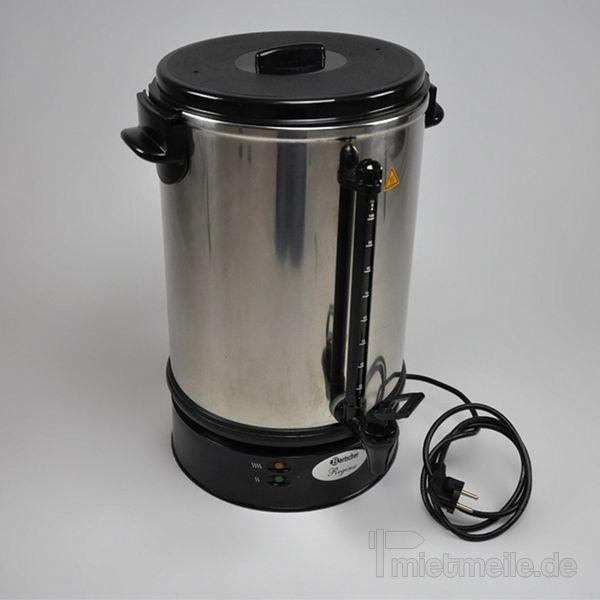Kaffeemaschinen mieten & vermieten - Rundfilter-Kaffemaschine / Kaffeekocher, 15 Liter in Hochheim am Main