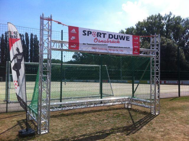 Fußball mieten & vermieten - Fußball-Radar-Tor in Bramsche