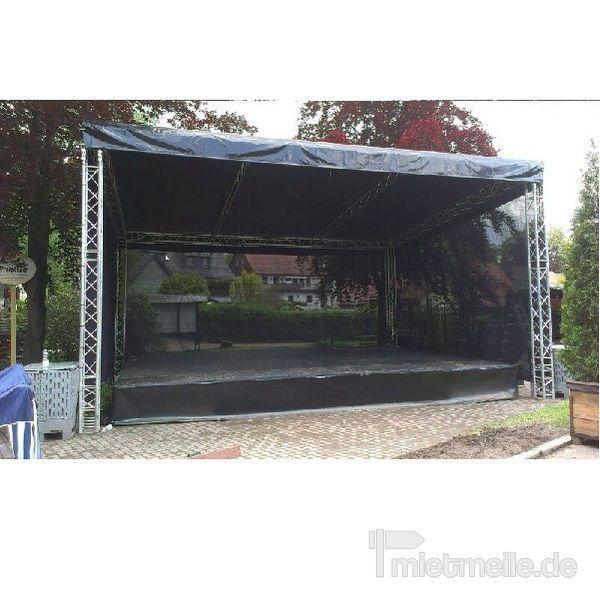 Bühne mieten & vermieten - Bühne 8x6m in Chemnitz
