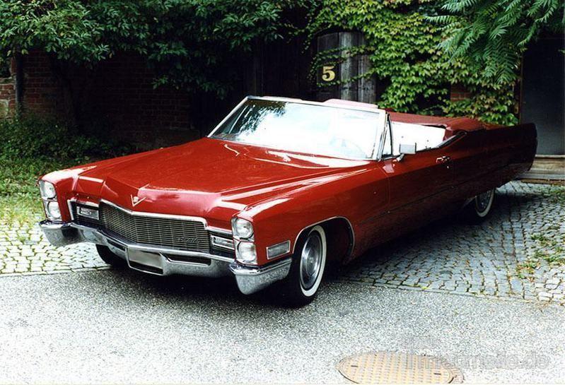 Oldtimer mieten & vermieten - Cadillac de Ville Cabrio 1968 in Ludwigsburg