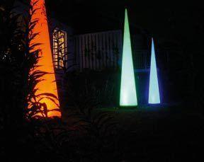 Leuchten & Lampen mieten & vermieten - Aircones mit LED-Beleuchtung in Würzburg