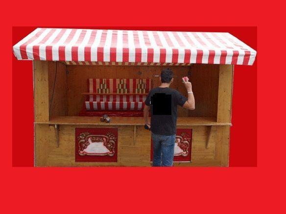 Gewinnspiele mieten & vermieten - Dosenwurfstand, Dosenwerfenmieten, leihen, verleih in Göppingen