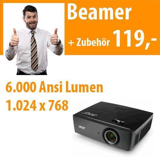 Beamer mieten & vermieten - 6.000 ANSI DLP Beamer in Dresden