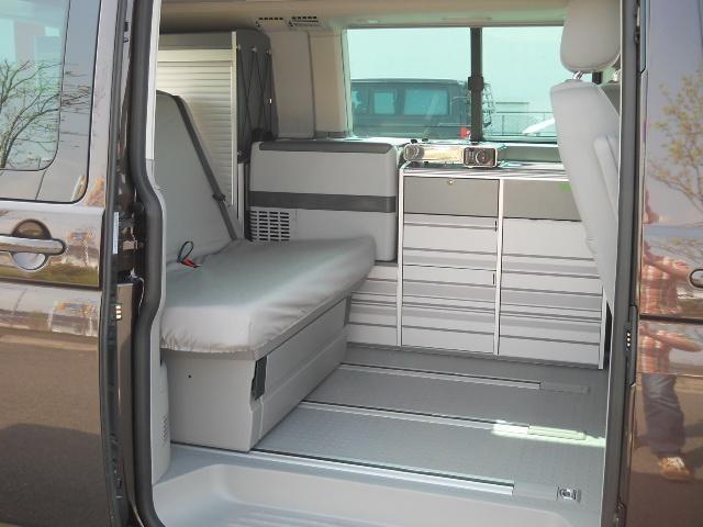 Wohnmobile mieten & vermieten - VW T5 California Camper bei Ihrem deutschlandweiten Wohnmobilverleih in Ansbach