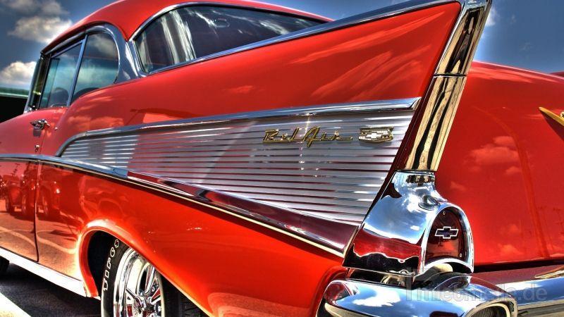 Oldtimer mieten & vermieten - Chevy Bel Air 57 Coupe Film oder Hochzeitsauto in München