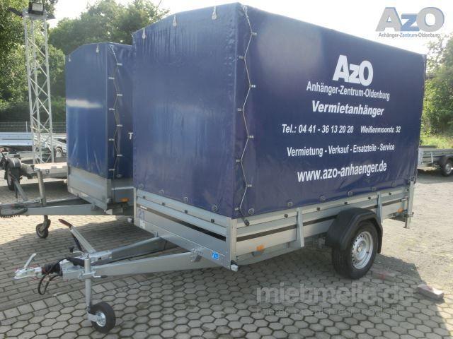 Planenanhänger mieten & vermieten - Anhänger mit Hochplane Brenderup 2300 S 1,3 t - Innenhöhe 190 cm in Oldenburg (Oldenburg)