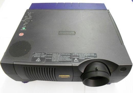 Beamer mieten & vermieten - Beamer Toshiba TLP 770E in Leipzig