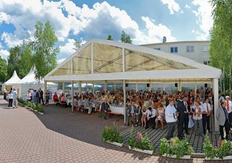 Partyzelte mieten & vermieten - Partyzelt 15m breit in der Länge variabel in Bautzen