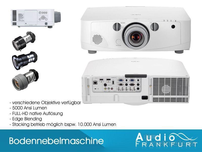 Leinwand mieten & vermieten - Full HD Beamer NEC PA500u Tageslichtbeamer in Frankfurt am Main
