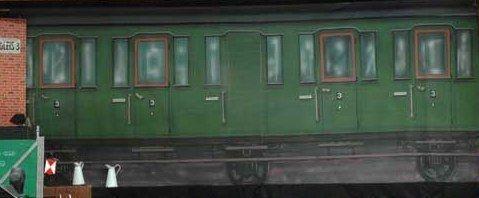 Kulissen mieten & vermieten - Orient Express Kulisse, Kulisse, Orient, Orient Express, Zug, Bahn, Waggon, Abteil, Dekoration, Wagen, Event, Messe in Lahnstein