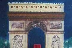 Kulissen mieten & vermieten - Frankreich Arc de Triomphe Kulisse, Triumphbogen, Kulisse, Arc de Triomphe, Frankreich, Paris, Wahrzeichen, Dekoration in Kamp-Bornhofen