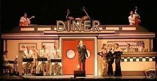Kulissen mieten & vermieten - Amerika Diner Kulisse, Diner, Kulisse, Amerika, USA, Restaurant, amerikanisch, Burger, American Diner, Party, Event in Kamp-Bornhofen