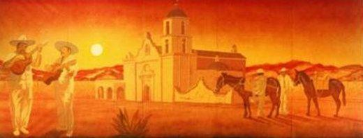Kulissen mieten & vermieten - Mexiko Kulisse, Samarita, Mexico, Mexiko, Kulisse, Dekoration, Südamerika, Sombrero, Event, Messe, Veranstaltung in Kamp-Bornhofen