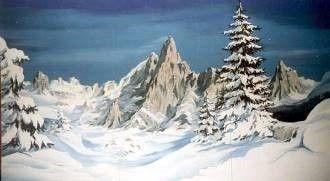 Kulissen mieten & vermieten - Matterhorn Kulisse, Matterhorn, Kulisse, Berg, Bergspitze, Gipfel, Berggipfel, Alpen, Schweiz, Dekoration, Event, Messe in Lahnstein