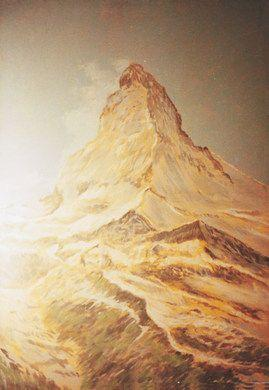 Kulissen mieten & vermieten - Matterhorn Kulisse, Matterhorn, Kulisse, Berg, Bergspitze, Gipfel, Berggipfel, Alpen, Schweiz, Dekoration, Event, Messe in Kamp-Bornhofen