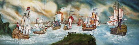 Kulissen mieten & vermieten - Segelschiff Kulisse, Segelschiff, Segel, segeln, Kulisse, Dekoration, Flotte, Meer, Schiffskulisse, Schiff, Schifffahrt in Kamp-Bornhofen