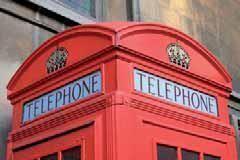 Kulissen mieten & vermieten - Telefonzelle Kulisse, Kulisse, Telefonzelle, Telefon, London, England, Britisch, Britannien, Großbritannien, Dekoration in Kamp-Bornhofen