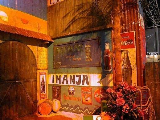 Kulissen mieten & vermieten - Brasilianische Hauskulissen, Hauskulissen, Kulisse, Haus, Fassaden, Hausfassaden, Rio de Janeiro, Copacabana, Hauswand in Kamp-Bornhofen